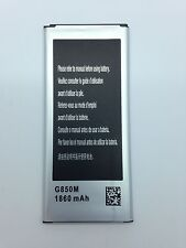 Lot Of 5 New Battery For Samsung Galaxy Alpha G850 G850A Eb-Bg850Bbu At&T