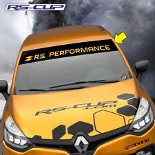 1236 Sticker RS PERFORMANCE RENAULT SPORT Clio Megane noir jaune megane clio
