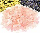 Rose Quartz Mini Gemstone Chips Candlemaking Orgonite Wicca Roller Crystals