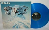 TRILLION Self Titled BLUE VINYL LP RECORD Epic PROMO 1978 PROG ROCK