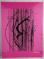Phil Pierre - STRING 117 - New original abstract art acrylic painting on board