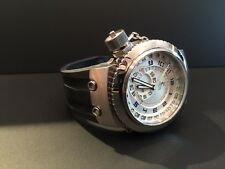 Invicta 10009 Men's Russian Diver Black Strap Watch. VERY COOL PIECE!!