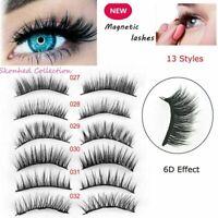 Triple Magnetic 3D Eyelashes Reusable False Long Magnet Full Eye Lashes Luxury