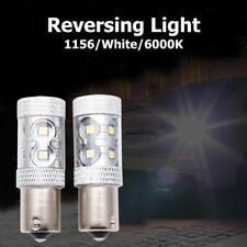 2x 50W PURE WHITE CREE LED P21W 1156 BA15S CANBUS ERROR FREE DRL REVERSE LIGHT