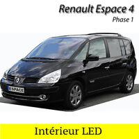 Kit éclairage ampoules à LED Blanc Eclairage Intérieur pour Renault Espace 4 ph1