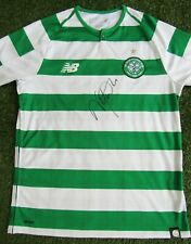 Neil Lennon Hand Signed Celtic Home Football Shirt - Autograph