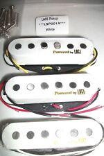 New set LACE stratocaster alnico - staggered - white - pour guitare strat