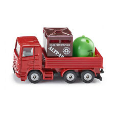 Siku 0828 Scania Recycling truck red model car (Blister pack) new! °