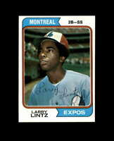 Larry Lintz Hand Signed 1974 Topps Montreal Expos Autograph