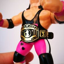 Custom WWF Hasbro style Wrestling Figure Title Belt - 1x IC - WWE WCW