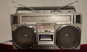 Ghettoblaster radio crown csc-950l boombox vintage