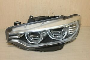 14-17 BMW 420i 428i 4 SERIES LIGHT HEADLIGHT ADAPTIVE FULL LED DRL AFS OEM LEFT