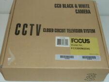 Focus CCD B/W Black & White Camera CCTV FC3300M Closed Circuit 15V Set 2-Pack