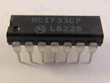 2 pezzi mc1733cp Motorola differential Wideband video Amplifier-ae14/2033