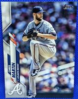 CHRIS MARTIN 2020 Topps Update ADVANCED STAT Parallel 76/300 Atlanta BRAVES #125