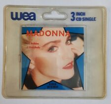 Madonna, Holiday, NEW/MINT Original UK 3 inch mini CD single