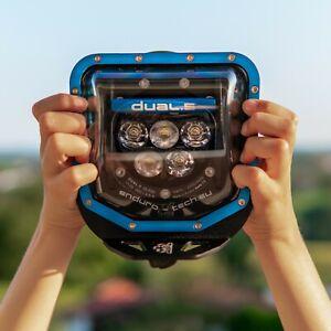 Dual.5 LED HUSQVARNA TE FE 501 300 450 250 125 ENDURO SUPERMOTO BLUE 2017-2020