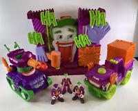Imaginext Joker Funhouse Playset Fisher Price DC Tank Joker Batman Surprise Lot