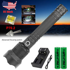 120000 lumens XHP70.2 most powerful led flashlight usb Zoom torch XHP70 P50