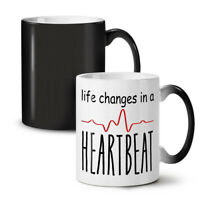 Life Changes Fast NEW Colour Changing Tea Coffee Mug 11 oz | Wellcoda