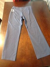 Womens LL Bean  30 x 28 Lycra jogging pants size S New with Tag Gray Bluish