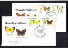 Nouvelle-Calédonie   enveloppe   philanippon  papillons   1991
