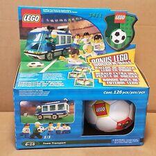 NEW LEGO Football/Soccer 3411 VTG 2000 Team Transport + Bonus Soccer Ball SEALED
