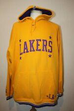 VTG Team Nike Sz XL Yellow Rewind 57 Los Angeles Lakers Hoodie