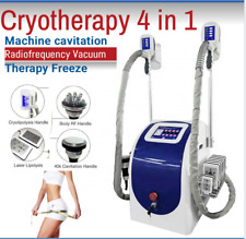 Cryotherapy 4 in 1 Machine cavitation Radiofrequency Vacuum Therapy Freeze