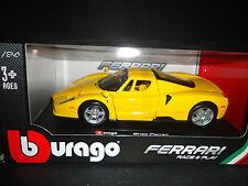 Bburago Ferrari Enzo Yellow 1/24