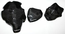Yamaha r1 07-08 rn19 3x carbon embrague tapa lima tapa set carbono Carbone