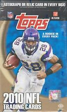 2010 TOPPS FOOTBALL HOBBY BOX BLOWOUT CARDS