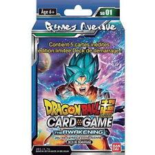 """Dragon Ball Super Card Game ! Deck de Démarrage """"The AWAKENING"""" VF/SD1 !"""