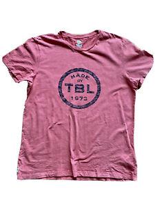 Men's Timberland Short Sleeve Timberland T-Shirt-Red Organic Cotton