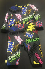 NEW HARAJUKU MINI Target 20th GRAFFITI PRINT Long Sleeve Romper 8M Gwen Stefani
