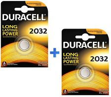 DURACELL BATTERIA DL2032 PILA BOTTONE A LITIO 3V BR2032 PILA BOTTONE KIT 2 PEZZI