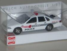 Busch Chevrolet Caprice Rosemont Police RAR 1:87 Neu OVP