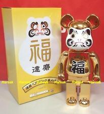 Medicom 2014 Bearbrick Skytree Metallic Golden Daruma 400% Gold Plate Be@rbrick