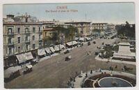 Egypt postcard - Cairo, Rue Kamel et place de l'Opera (A18)