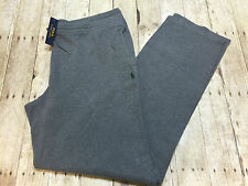 RALPH LAUREN POLO SWEAT PANTS GREY HEATHER  MENS SIZE 3LT NEW WITH TAGS $125