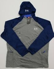 Men's Under Armour Cold Gear Tech Terry Popover Hoodie (1289697-026) Gray - 2XL