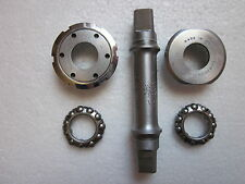 USED CAMPAGNOLO SUPER RECORD PISTA BB BOTTOM BRACKET 68-P-110 CUPS 35X1 FRENCH