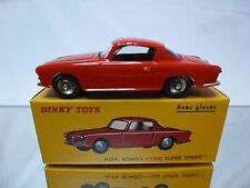 DINKY TOYS ATLAS 24J ALFA ROMEO 1900 SUPER SPRINT - RED 1:43 - MINT IN BOX