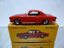 DINKY TOYS ATLAS 24J ALFA ROMEO 1900 SUPER SPRINT - RED 1:43 - MINT IN BOX