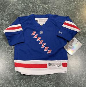 New York Rangers Henrik Lundqvist #30 Hockey Jersey INFANT Size 12-24 Months NEW