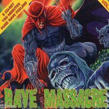 Rave Massacre Vol. II - 2CD NEU OVP - HARDCORE GABBER