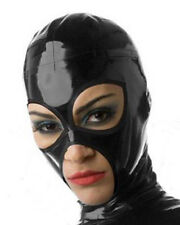 Latex Hood Teddies Latex Mask Open Eyes And Mouth Clubwear Gummi 0.4mm