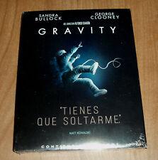 Gravity New Sealed 2 Blu-Ray Slipcover Thriller Fiction (Sleeveless Open)