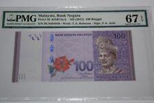(PL) NEW SALES: RM 100 BU 9494949 PMG 67 EPQ RADAR ALMOST SOLID REPEATER UNC
