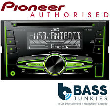 JVC KW-R520 - CD MP3 USB AUX Android iPhone Double Din Car Stereo Radio Player
